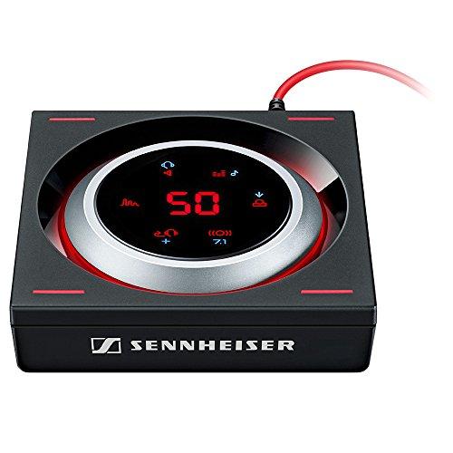 sennheiser gsx 1200 pro professioneller gaming audioverst rker schwarz rot ipehog. Black Bedroom Furniture Sets. Home Design Ideas